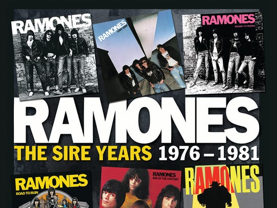 The Ramones' 'The Sire Years 1976-1981'