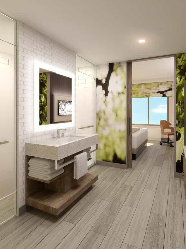 Hotel Bathrooms New Amenities Upgrade, Fancy Bathroom Showers