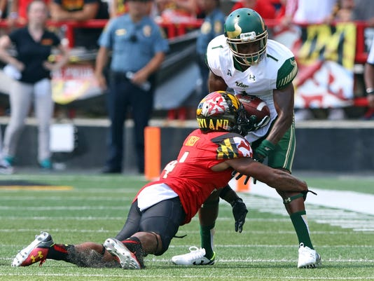 NCAA Football: South Florida at Maryland