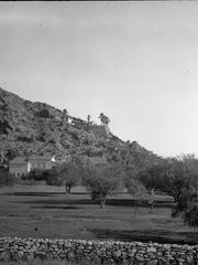 View of The Desert Inn, the Bishop House, the Mead
