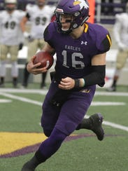 Ashland University quarterback Travis Tarnowski has