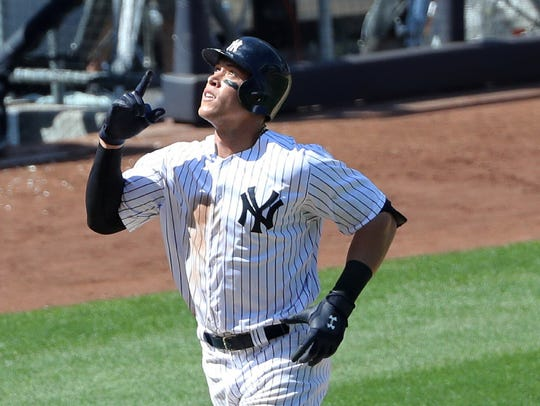 Aaron Judge hit two more home runs in the Yankees'