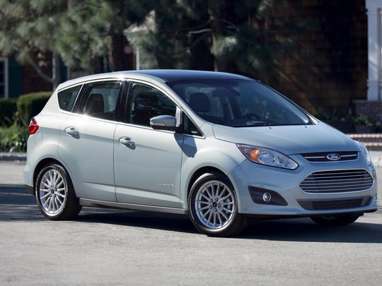 2013 Ford C-Max Hybrid: C-MAX Hybrid headlined Ford's transformed lineup, one-third of which will feature a model with 40 mpg or more in 2012.