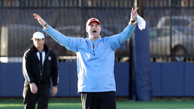 Receivers coach Jacob Peeler helped Ole Miss land two of its top three players in the 2018 recruiting cycle.