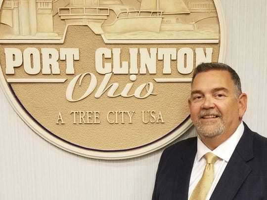 Olen Martin, former Port Clinton safety-service director, was fired by the mayor on Friday.