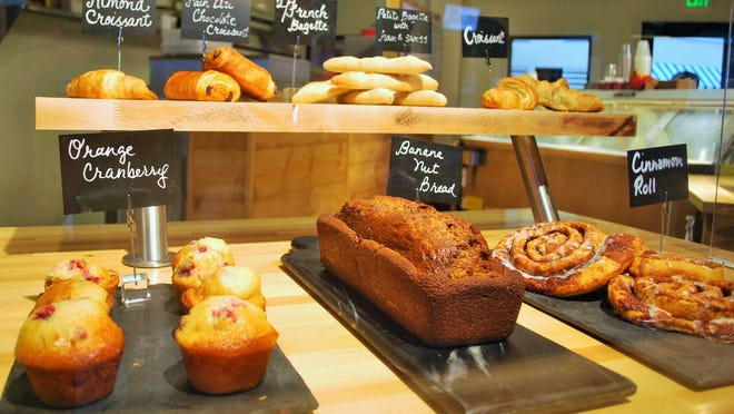 A look at the fresh pastries made daily at The French Press in Cape Coral.