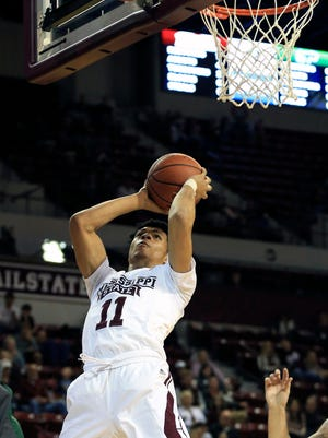 Mississippi State freshman Quinndary Weatherspoon sparks a second-half run to help his team beat Tulane on Saturday.