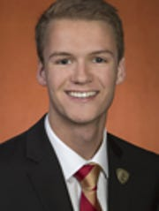 Kyle Hill, FSU student body president and member of