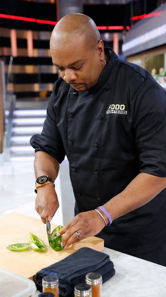 FOOD FIGHTERS -- Episode 209: Aaron McCargo Jr.