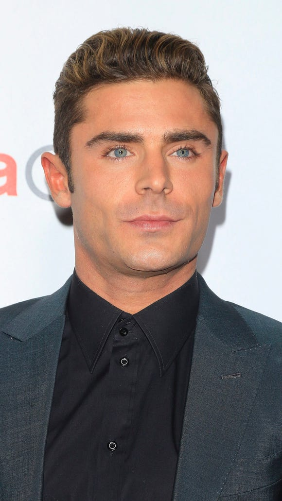 Zac Efron, outs