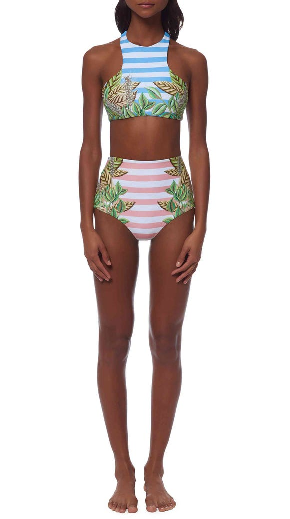 Finding the right swimsuit with advice from beach beauty ...