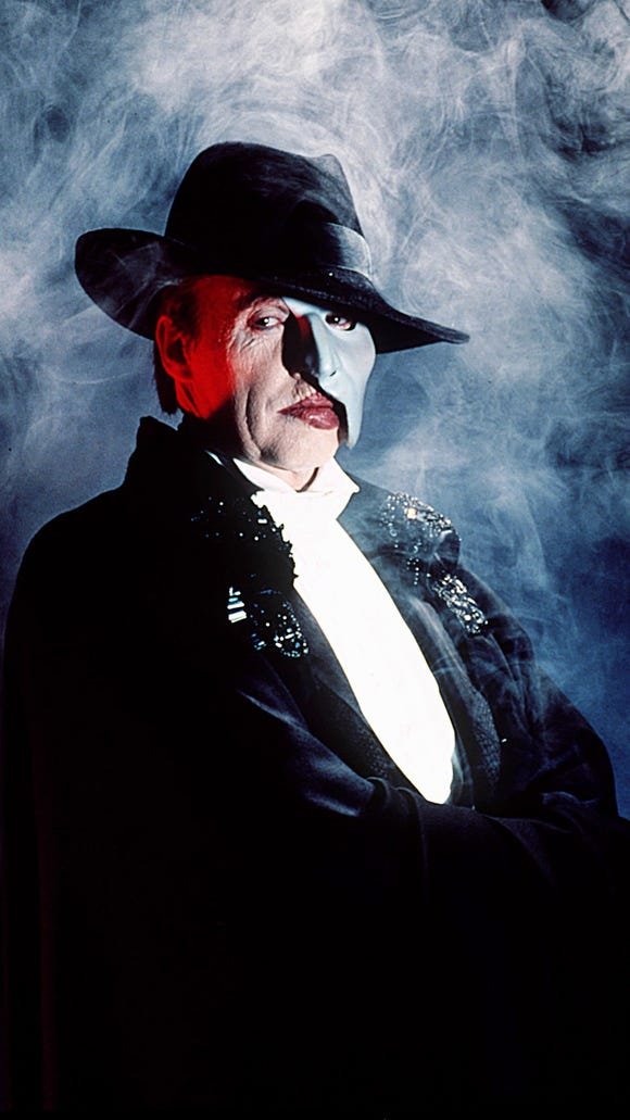 Michael Crawford as The Phantom of the Opera. (Gannett