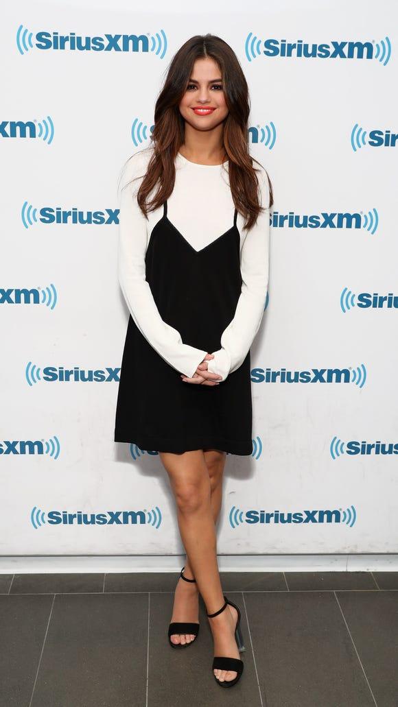 Slip dresses: Selena Gomez, Zendaya, more celebs slink into the trend