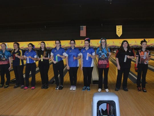 Top CCC girls bowlers