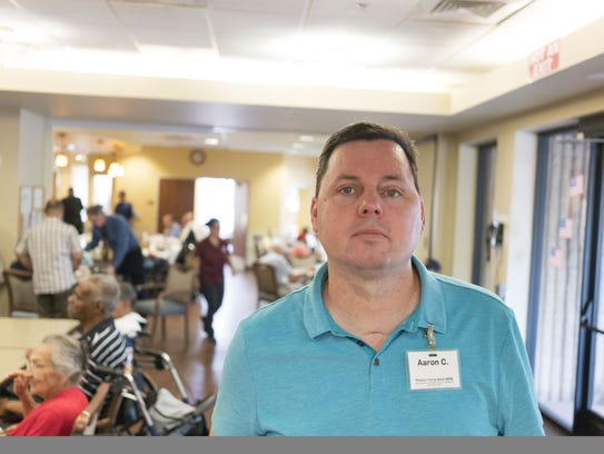 Aaron Cox at the Foundation for Senior Living for the