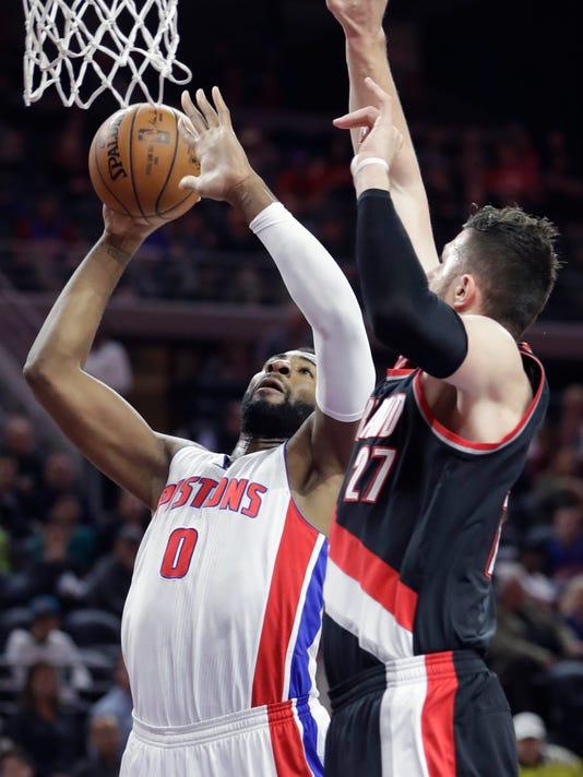 Detroit Pistons vs. Portland Trail Blazers