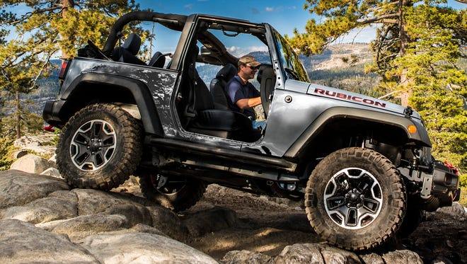 Jeep Wrangler, seen here as the Rubicon Hard Rock edition, is the cheapest vehicle to insure, a web site says
