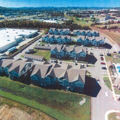 Ashland City could soon be home to about 300 new apartments on Highway 12 South near Walmart.