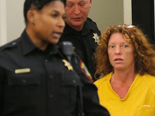Tonya Couch appears in court in Fort Worth on Friday,