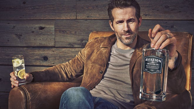 Actor Ryan Reynolds has invested in Aviation Gin.