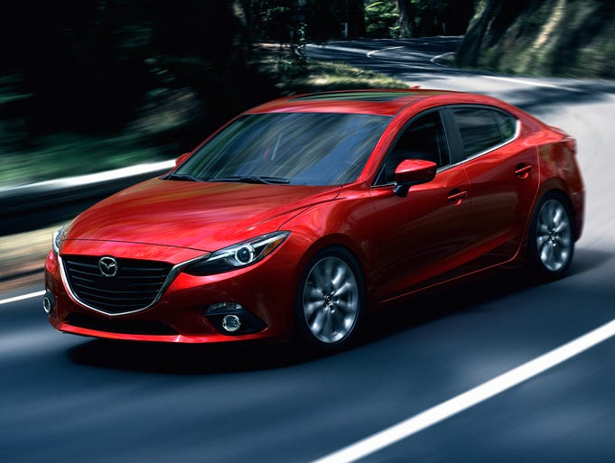 Mazda3 is a good budget choice for a family car