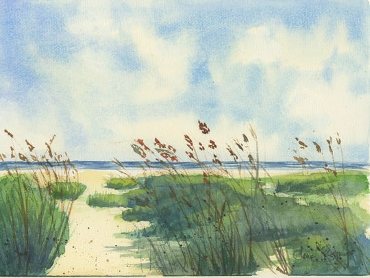 """""""Breezy Afternoon,"""" by Jane Seymour"""