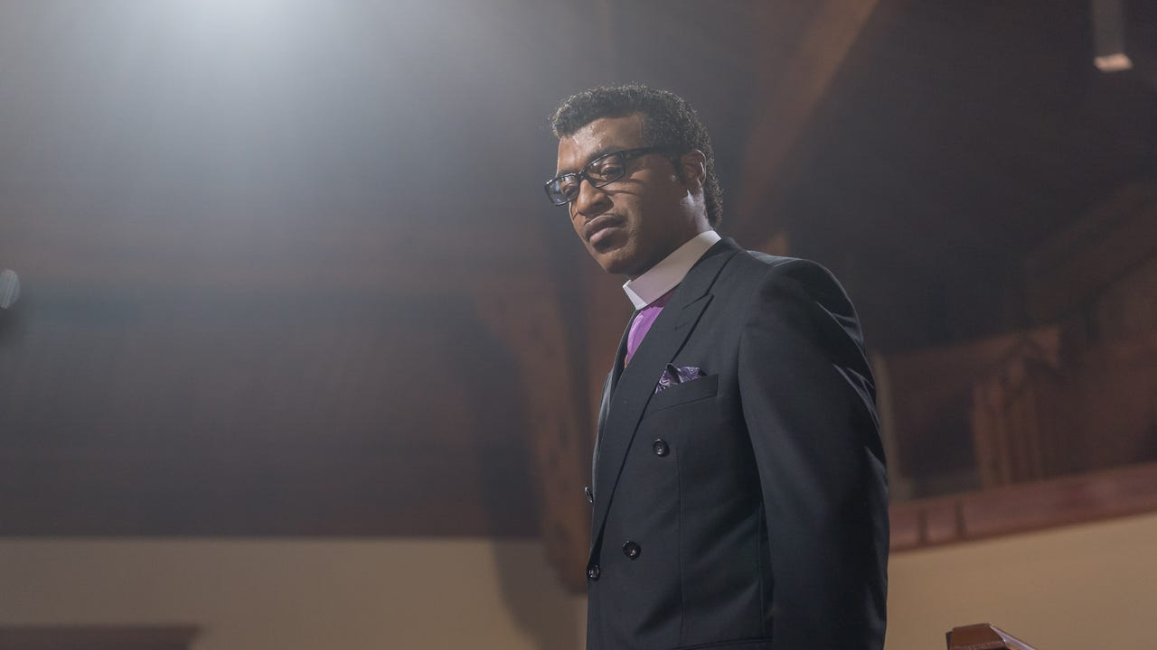 Netflix's 'Come Sunday' stars Chiwetel Ejiofor as Bishop Carlton Pearson, who undergoes a profound change of belief.