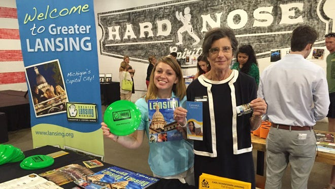More than 30 businesses attended the 2016 Downtown Student Welcome to kick-off the school year and give out freebies.