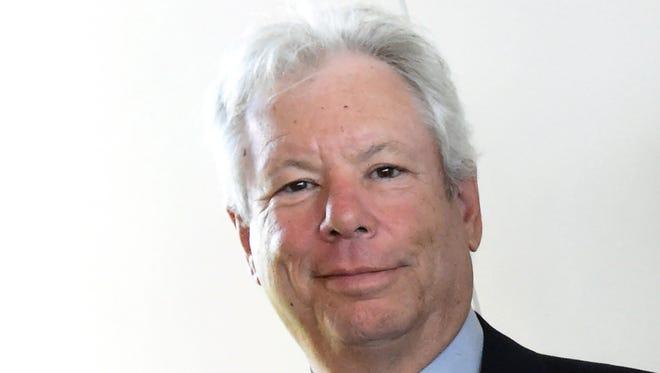 Picture taken on June 22, 2014, shows economist Richard H. Thaler.