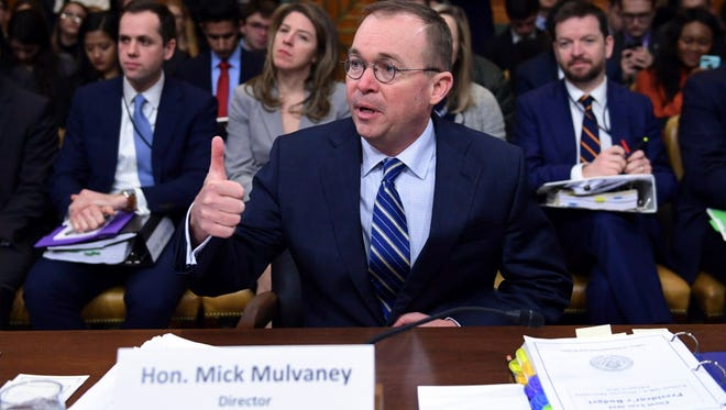 Mick Mulvaney is director of the Office of Management and Budget and acting director of the Consumer Financial Protection Bureau.