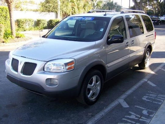 A 2006 silver Pontiac Montana  with Indiana license plate 193 ETI are associated with two women have gone missing. (The pictured car is not the same as the one the women are associated with.)