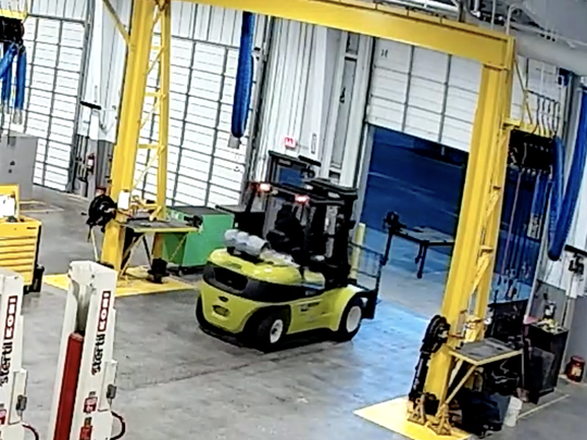 Knoxville's Fleet Services employees filed a grievance against their supervisor, Sam Daily, claiming he drove forklift recklessly while they stood nearby; supervisor says jealously is reason.