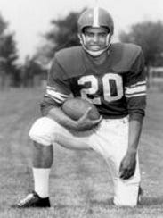 Sherm Lewis finished third on the Heisman Trophy ballot,