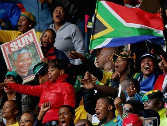 Obama eulogizes Mandela as 'great liberator'