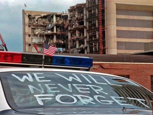 AP OKLAHOMA CITY BOMBING 20TH ANNIVERSARY A FILE USA OK