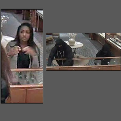 A Williams Jewelers in Denver was robbed Tuesday morning.