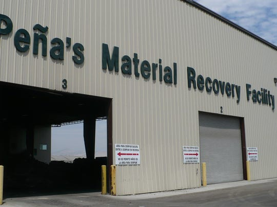 Pena's Material Recovery Plant.