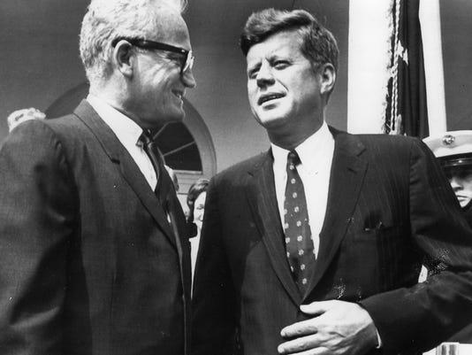 Arizona Senator Barry Goldwater