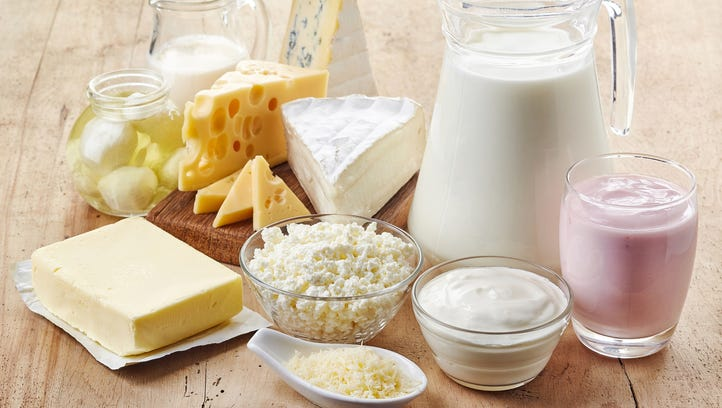 Reach for calcium-filled foods to get the right amount of this vital bone-boosting mineral