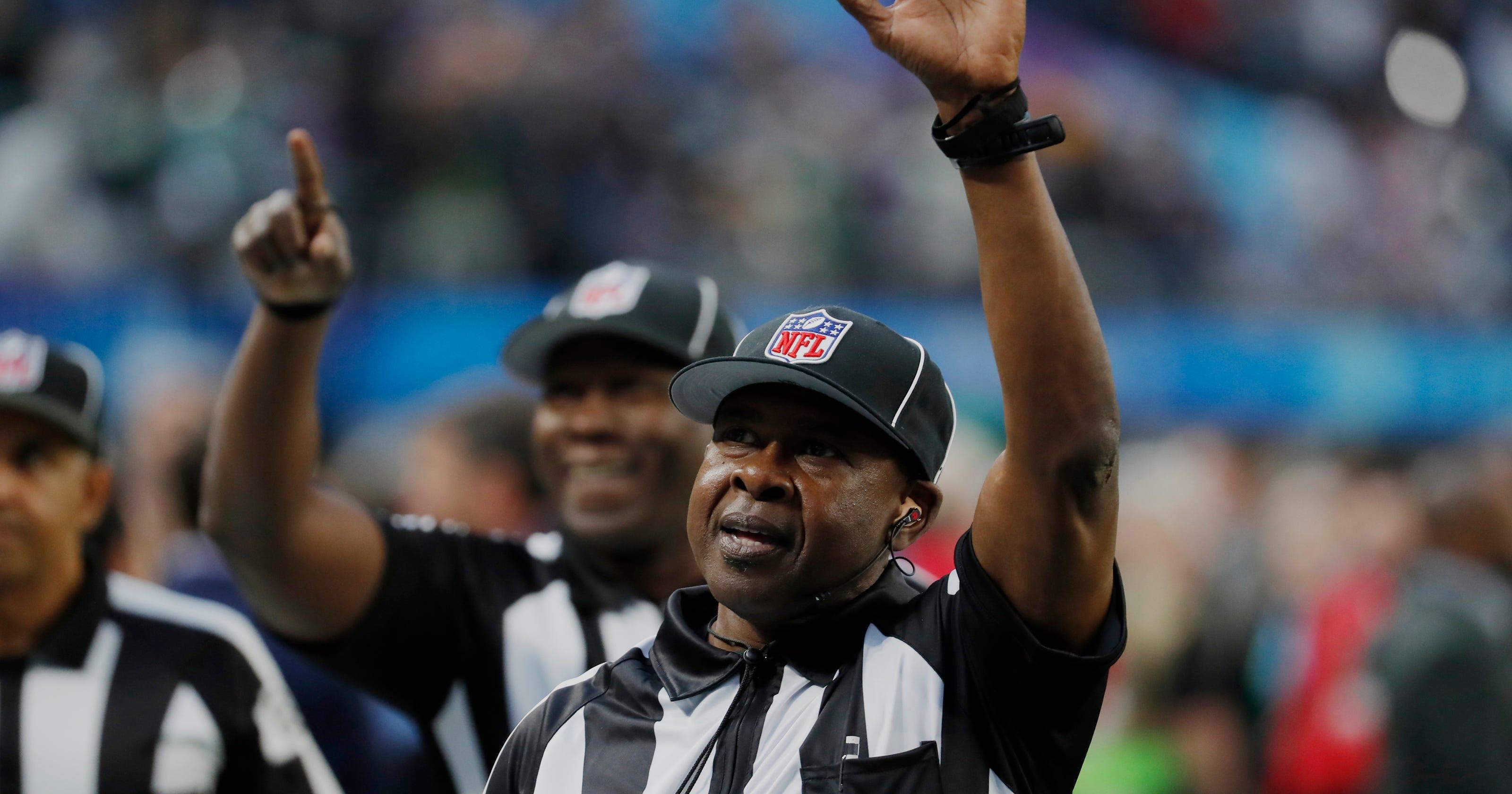AP source: NFL fines umpire $9,300, reinstates him