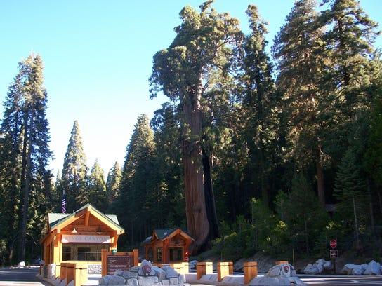 Big Stump Entrance Station