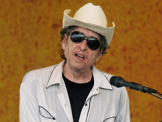 Bob Dylan, 2006 in New Orleans.