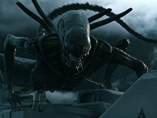 "A scene from ""Alien: Covenant."""