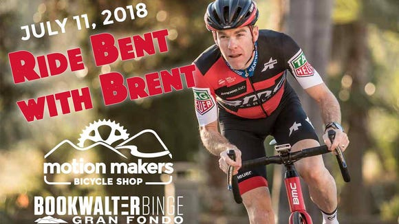 Tour de France veteran Brent Bookwalter will host a