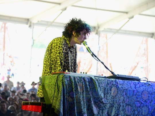Trevor Powers of Youth Lagoon performs onstage during