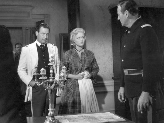 "Constance Towers starred alongside William Holden and John Wayne in ""The Horse Soldiers."""