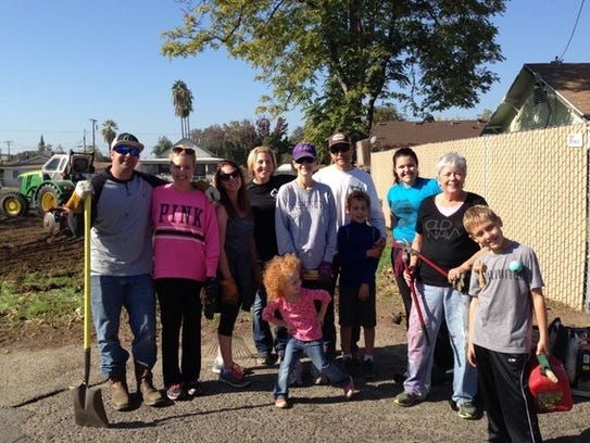 The Road 126 community group led by Aaron and Missy