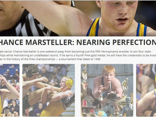 Click to view GameTimePA's interactive look at Chance Marsteller's career.