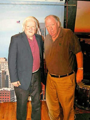Guitarist Dick Wagner, left, and David West.
