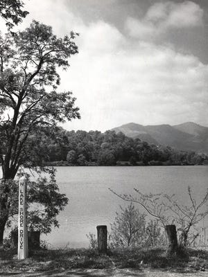 An undated historic photo of Beaver Lake. The Edgewood Restaurant was not far away.